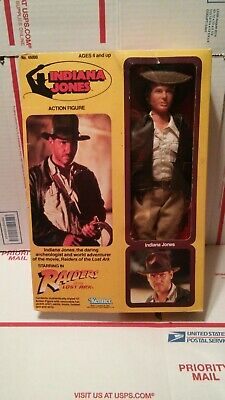 "Indiana Jones Kenner 12"" Raiders Of The Lost Ark  Harrison Ford M.I.B Complete."