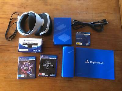 PlayStation VR with Camera and 2 Games