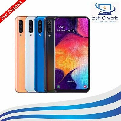 New Samsung Galaxy A50 (2019) Android Smartphone 128Gb Dual Sim 4G Lte 3 Colours