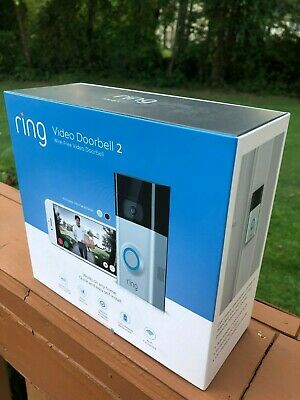 BRAND NEW! Ring Video Doorbell 2 Wire-Free Video Doorbell with 1 Year Warranty!