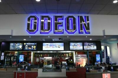 3 x Standard Adult Kids Odeon Cinema Tickets - INSTANT DELIVERY
