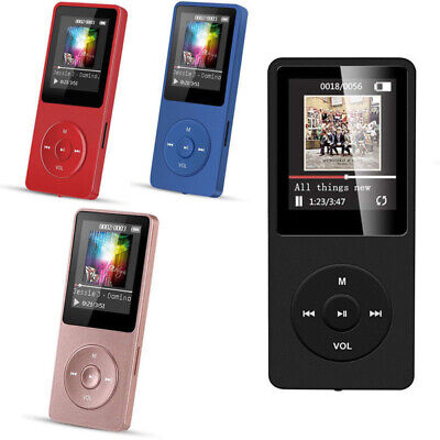 Portable Multifunction Music AVI MP3 Player 8GB 70 Hours Playback Lossless Sound