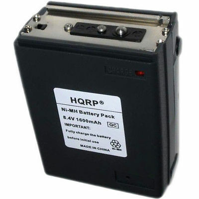 HQRP Battery for Icom BP-8 CM-8 A2 A20 A21 M2 M5 M11 M12 Two Way Radio