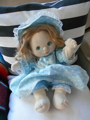 My Child Doll - Aussie - Pale -Strawberry Blonde - Blue outfit Dress - Blue Eyes