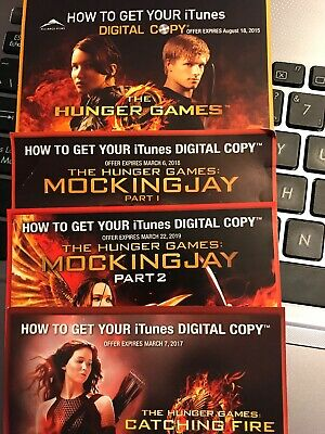 Hunger Games Canadian Redeem Code
