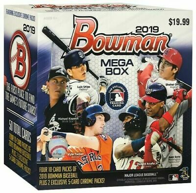 2019 Bowman Chrome Mega Box Target Exclusive Wander Franco, Joey Bart, Vlad Jr