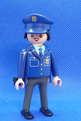 Playmobil PH-2 Ethnic Police Man Figure City Action