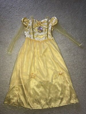 1f8a7ae64 Disney Store Princess Belle Beauty and the Beast Nightgown Pajamas Girls 9  10