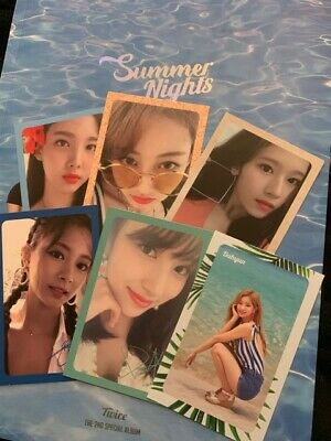 TWICE - SUMMER Nights kpop album Ver  A + pre-order photocards