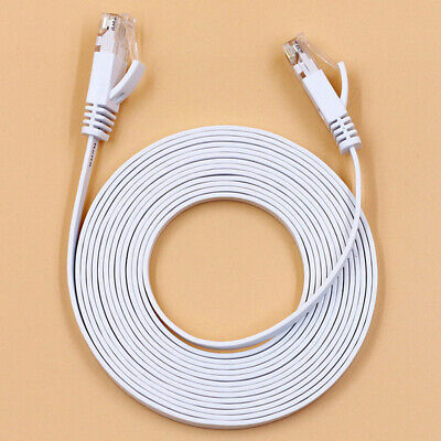RJ45 CAT6 Network LAN Cable Gigabit Ethernet Fast Patch Lead 1m/50m Wholesale DP