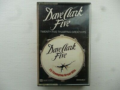 "The Dave Clark Five  "" 25 Thumping Great Hits ""  Cassette"