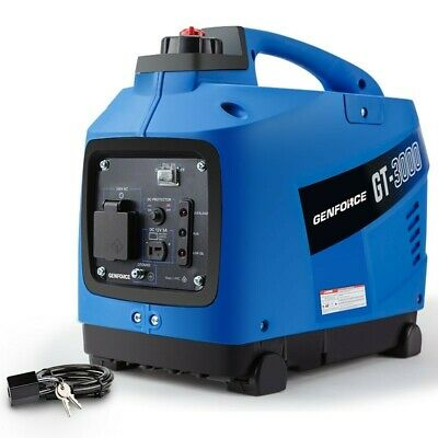GENFORCE Inverter Generator 2000Watts Max 1700Watts Rated Portable CampingPetrol
