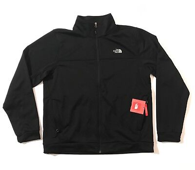 "The North Face Men's 100 ""Tenacious"" Cinder Full Zip TNF Black"