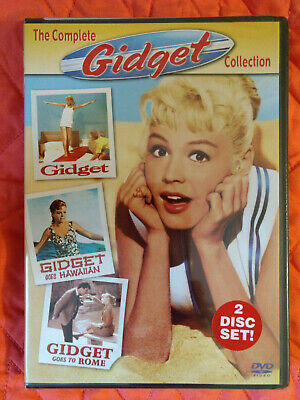 Gidget - The Complete Collection (2-Disc Set) (DVD, 2004) Brand New & Sealed