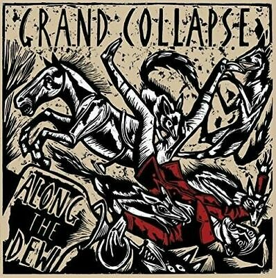 Grand Collapse - Along The Dew Lp (2017) Uk Hc-Punk / Limited Red Vinyl