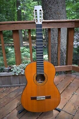 ce61aa17e3b H. YAIRI CLASSICAL Hand Made Acoustic Guitar Vintage 1969 - $99.00 ...