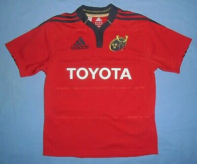 ADIDAS CLIMACOOL MUNSTER Rugby Toyota Youth Jersey Shirt
