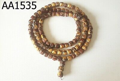 Ancient Holy Somdej Wang Wang Na Mala Beads Necklace #aa1535g