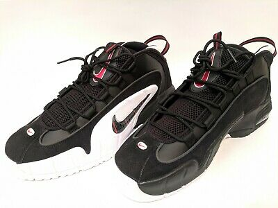 7bfdfaee81 Nike Air Max Penny 1 Black White University Red 685153-003 Mens Shoes Size  12