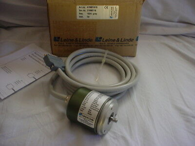 Leine & Linde absolute encoder 670001810 res 1024 5V
