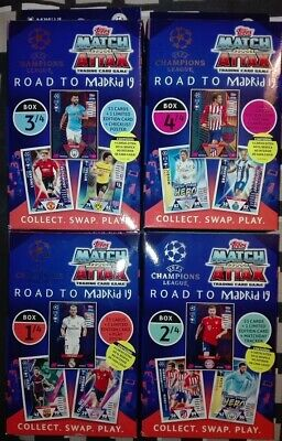 UPDATE + BENFICA EXCLUSIVE Champions League 2018/19 Match Attax Topps