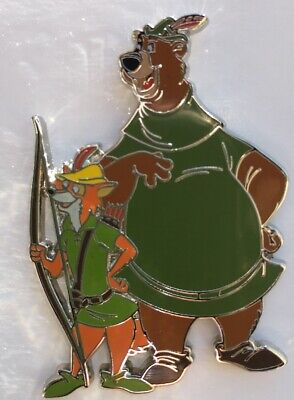Disney Pins Robin Hood Pin And Little John Pin Rare