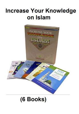 Increase Your Knowledge on Islam (6 Books)Muslim books QuranTafsser Darussalam