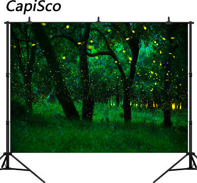 Photography Backdrops Forest Fireflies Dream Fairy Tale Children Backgrounds 569