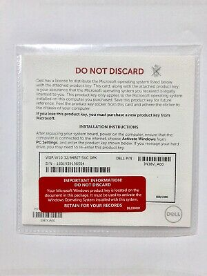 Windows 10 Pro OEM key - Brand New Never Been Used