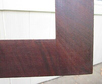 c1840 American Dry Oxblood Red Grain Painted Folk Art Primitive Fraktur Frame