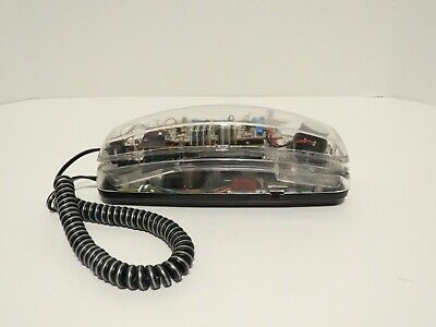 Vintage Clear Telephone Touch Tone 1990s style