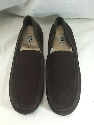 a6de142659d UGG MEN'S ALDER Wool Grey Slippers Size 12 - $52.49 | PicClick