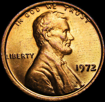 1972 Lincoln Cent  ---- Double obverse? Double Date? ----  #Q053