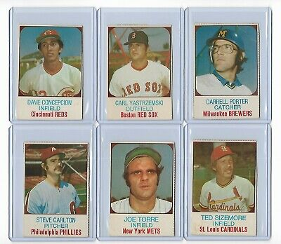 Lot Of 41 Different Individual Cutout 1975 Hostess Baseball Cards
