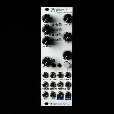 uBurst Micro Mutable Instruments Clouds Eurorack Synth Module (White Textured)