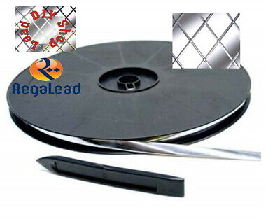9mm natural Self adhesive lead strip tape for Windows glass crafts REGALEAD tool