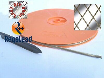 2mm Self adhesive lead strip tape for windows glass crafts 2 strand REGALEADtool
