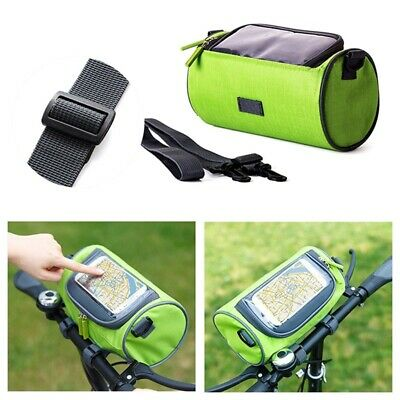 YANHO Outdoor Mountain Bicycle Cycling Top Tube Bag Pouch Holder Black F7W9