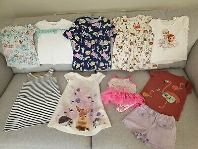 Girls River Island, M&S, Peppa Pig H&M Summer Clothes Bundle Size 18 - 24 Months