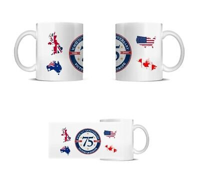 Victory in Europe Day 1945-2020 75 YEARS Special Edition Commemorative Mug