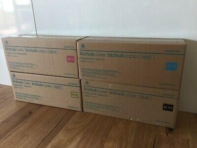 Konica Minolta A3GP01D (IUP-22K) Drum kit, BLACK- Unopened - Several available