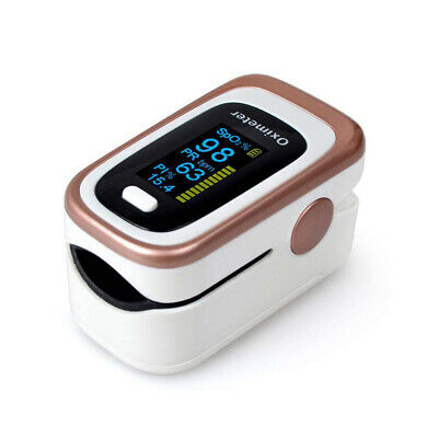 OLED Fingertip Pulse Oximeter SPO2 PR RR PI Blood Oxygen Heart Rate Monitor TOP