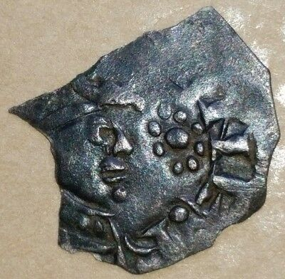 Extremely rare Stephen penny, rosette in place of sceptre, Oxford, Spink 1293