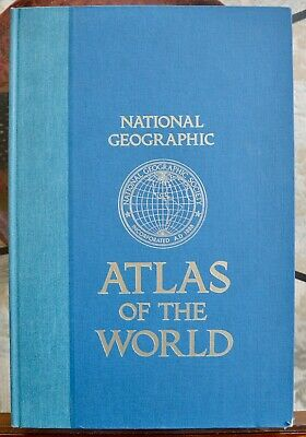 National Geographic ATLAS OF THE WORLD Fifth Edition Second Printing 1983