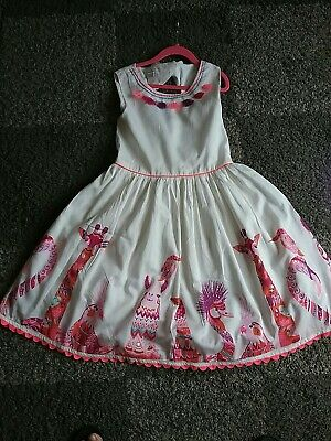 Monsoon girls dress age 10  only worn in vgc