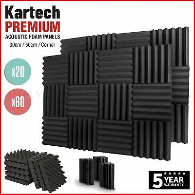 Sound Proofing Acoustic Panels Tiles Foam Studio Egg Shell Insulation Bass Traps