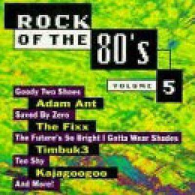 Rock Of The 80's, Vol. 5 by Various Artists