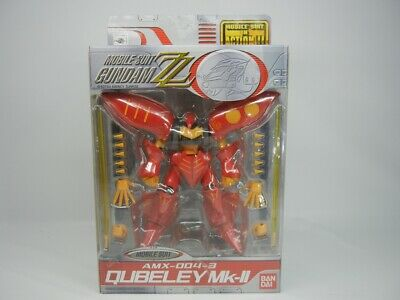NEW MSIA AMX-004-2 Qubeley Mk-II Blue Gundam Action Figure Bandai US Seller MIA
