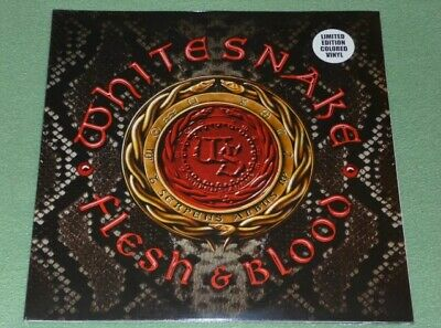 WHITESNAKE Flesh & Blood EXCLUSIVE GOLD VINYL DOUBLE Heavyweight 2LP NEW SEALED