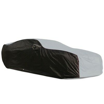 2010 - 2015 Chevrolet Camaro Ultraguard Car Cover - Indoor/Outdoor: Grey/Black